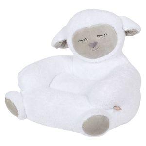 Children's Sherpa Lamb Plush Character Chair