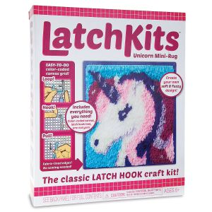 Unicorn Latch Rug Kit
