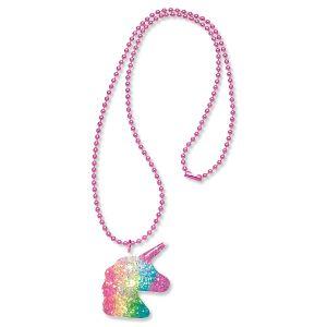 Unicorn Glitter Necklace