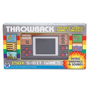 Throwback Pocket Video Game Console