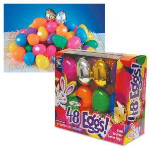 Crazy Color Easter Eggs