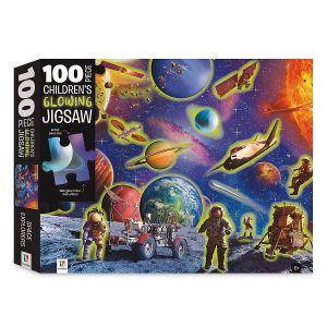 Children's 100-Piece Puzzle Space Adventure