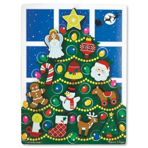 Holiday Tree Chunky Puzzle by Melissa & Doug®