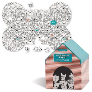 1000 Piece Doghouse Party Puzzle