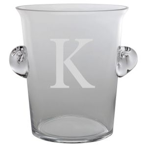Personalized Initialed Ice Bucket
