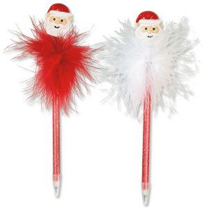 Santa Bobble-Head Holiday Pen