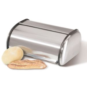 Rolltop Stainless Steel Bread Box