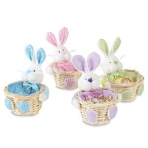 Happy Easter Mini Bunny Baskets