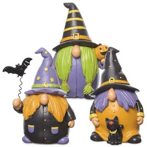 Resin Gnome Witches