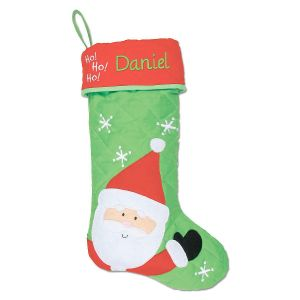Santa Personalized Christmas Stocking  by Stephen Joseph®