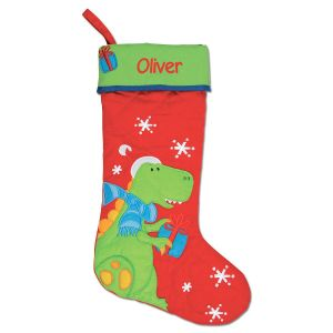 Dino Personalized Christmas Stocking by Stephen Joseph®