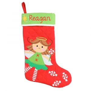 Angel Personalized Christmas Stocking by Stephen Joseph®
