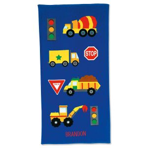 Truck Personalized Towel