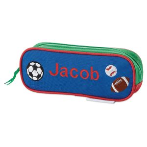 Personalized Sports Pencil Case