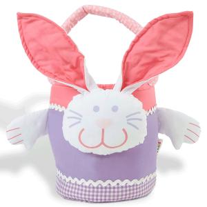 Pink & Lavender Easter Bunny Basket