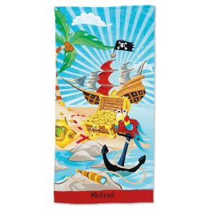 Pirate Personalized Towel