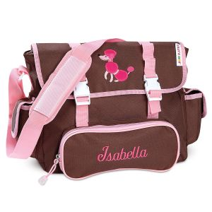 Poodle Messenger Bag by Lilly's Kids