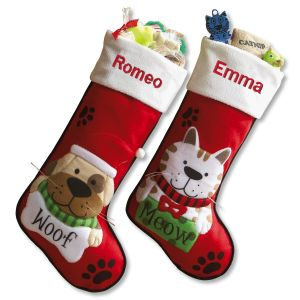 Pet Personalized Christmas Stockings