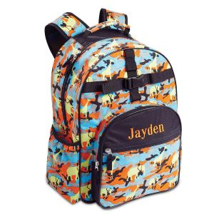 Jungle Camo Backpack by Lilly's Kids