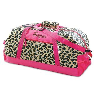 "30"" Leopard Spots Duffel Bag"