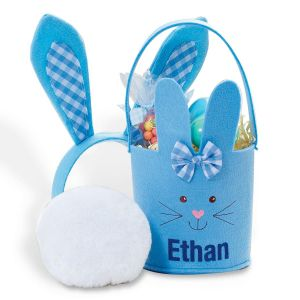 Kids Blue Easter Pail