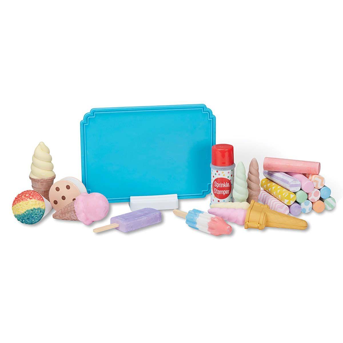 Ice Cream Shop Chalk Set by Melissa & Doug®