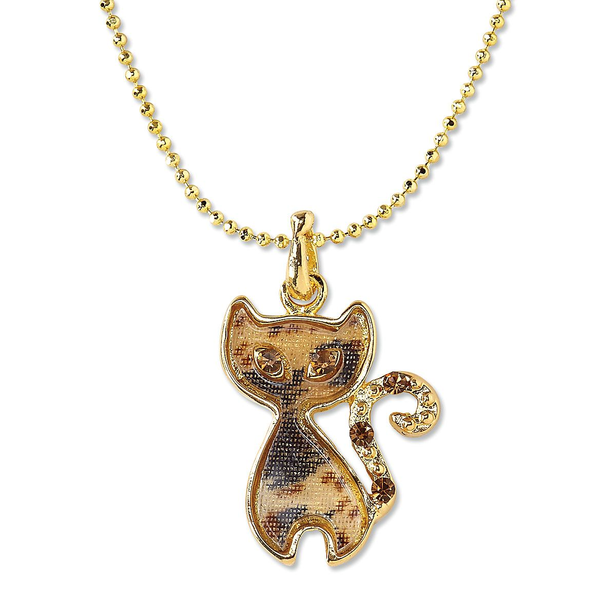 chain pendant cat accessories long women brand crystal bonsny newei necklace zinc necklaces alloy statement fashion from item jewelry new in girl