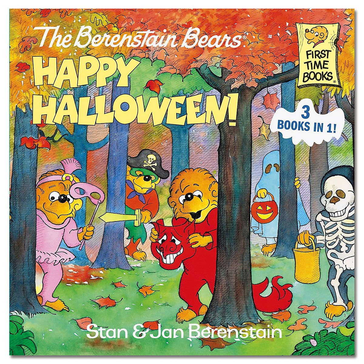 Berenstain Bears Happy Halloween 3 Books in 1