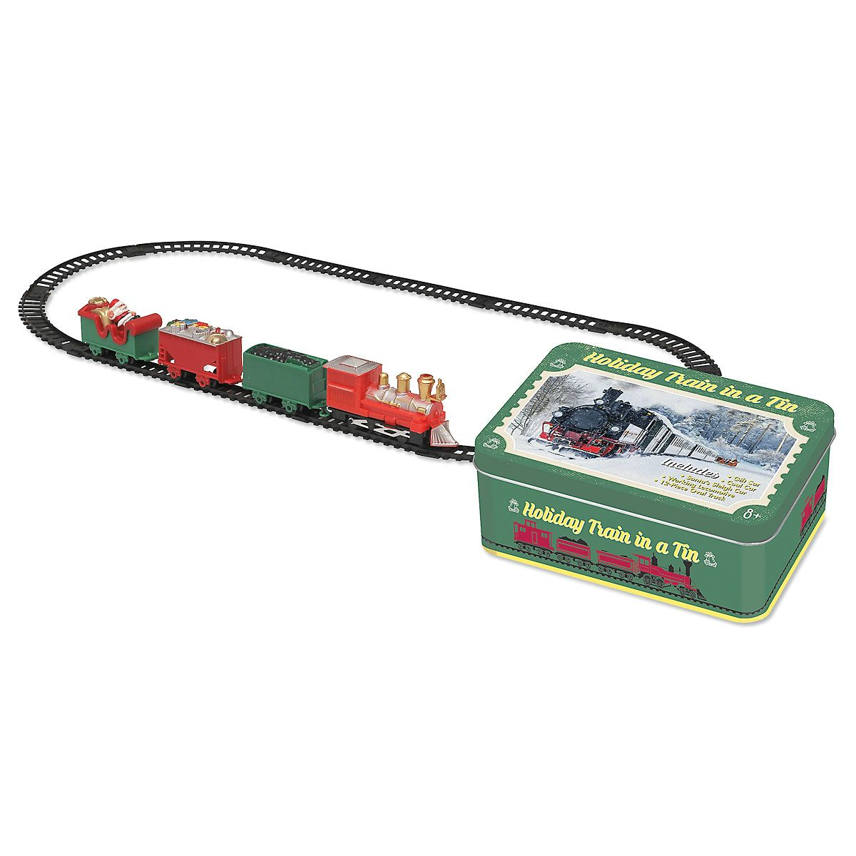 Holiday Train in A Tin