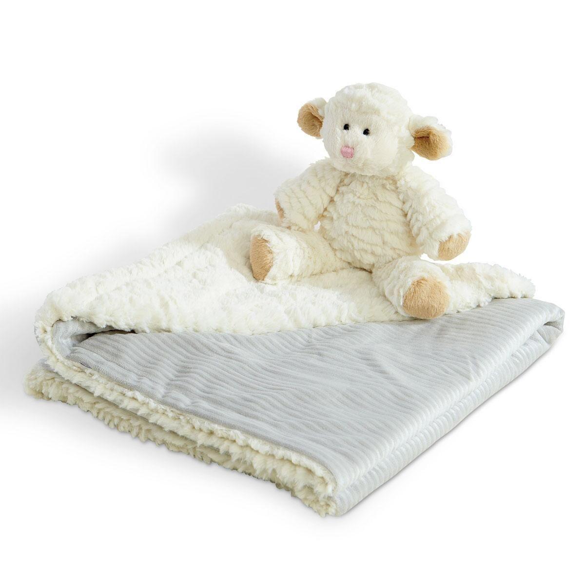 Lamb & Cuddle Blanket