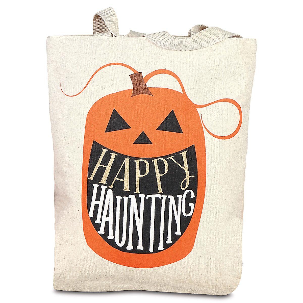 Pumpkin Canvas Tote Bag