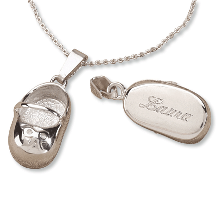 Sterling Silver Baby Shoe Charms