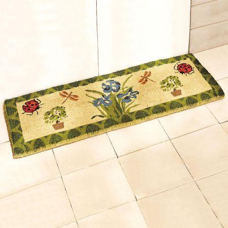 Iris & Ladybug Coco Double Personalized Doormat