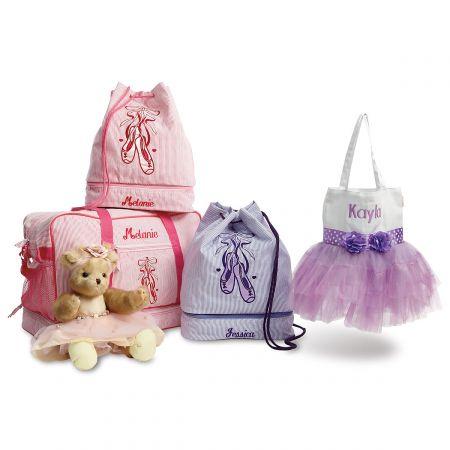 Purple Ballet Bag