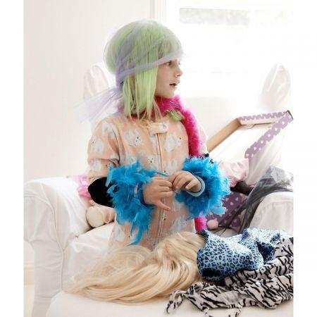 Diva Wigs & Dress Up Trunk Set