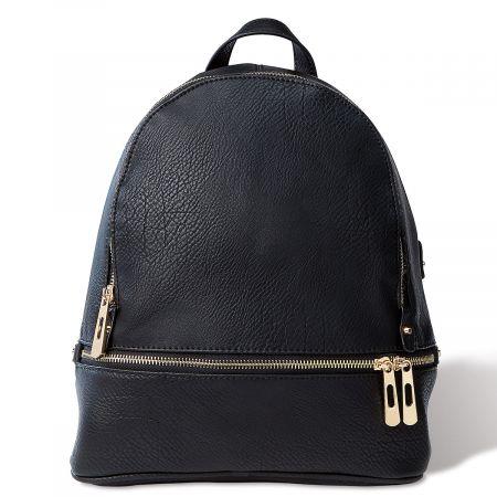 Black Zip-Around Backpack