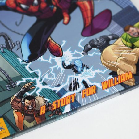 Marvel Spider-Man Personalized Storybook