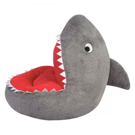 Children's Shark Plush Character Chair