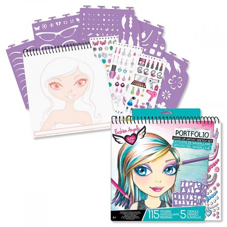 Make-Up Artist Sketch Set