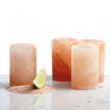 Himalayan Salt Shot Glasses by Bitterman Salt Co.