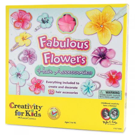 Fabulous Flowers Hair Accessories Kit