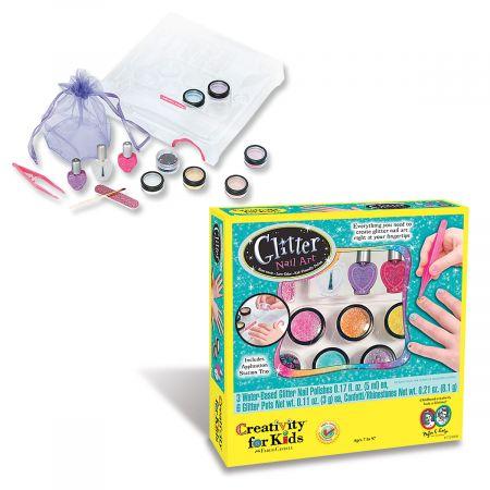Creativity for Kids Glitter Nail Art Kit