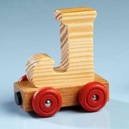 Letter Car - J