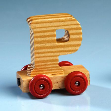 Letter Car - P