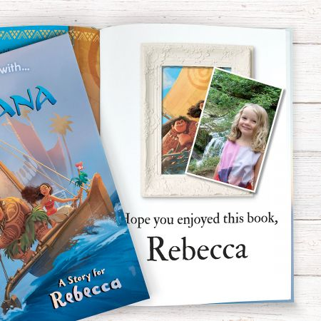 Disney Moana Personalized Storybook