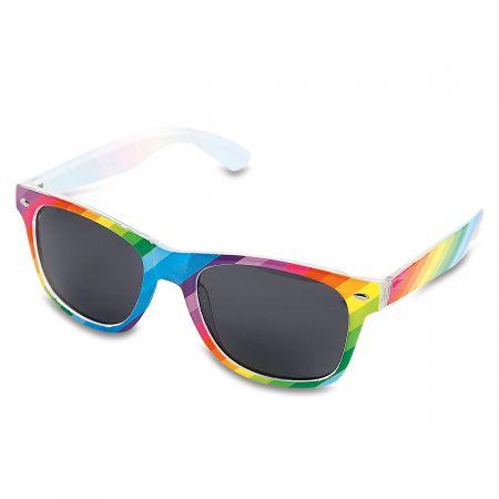 Rainbow Stripe Sunglasses