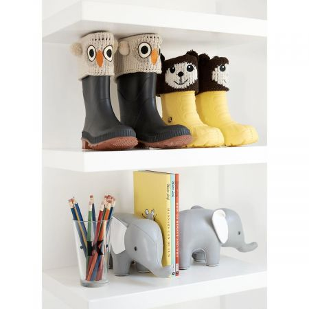Owl Boot Cuffs by Two's Company