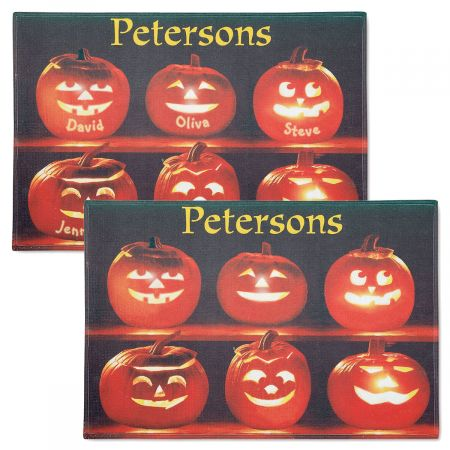 Pumpkin Family Doormats