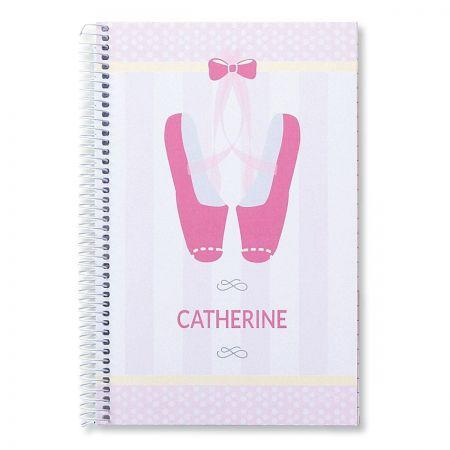 Ballerina Notebook by Designer Maureen Anders