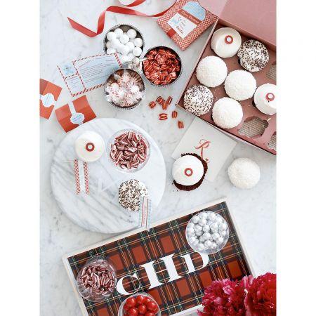 Santa Holiday Recipe Cards by Designer Maureen Anders